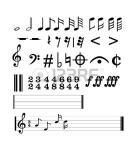 41124277 notas musicales completos coleccion de simbolos musicales