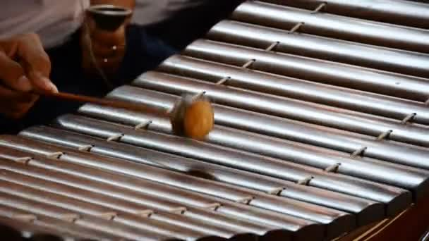 Depositphotos 53677017 stock video playing thai xylophone hd