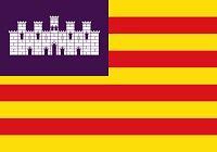 Islas baleares bandera 200px