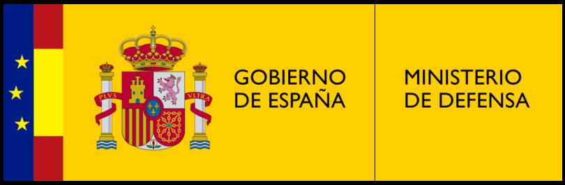 Logotipo del ministerio de defensa 810x266
