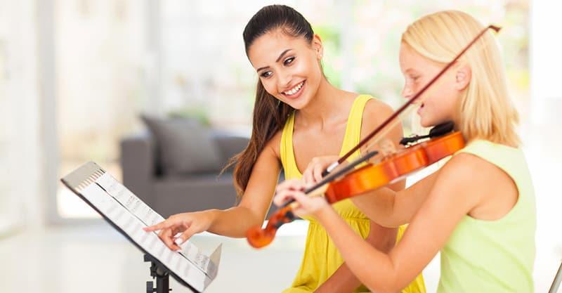 Oferta trabajo profesor de violin