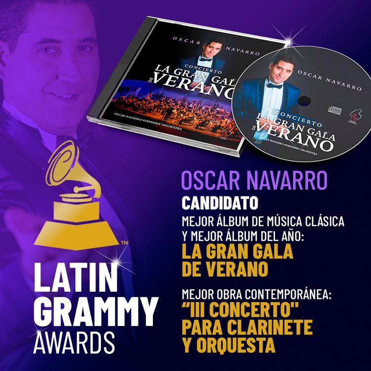 Oscar navarro latin grammy
