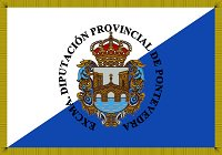 Pontevedra bandera 200px