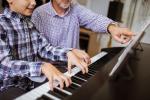 Profesor piano teclado