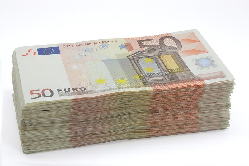 Taco de cincuenta cuentas de los euros 27914194